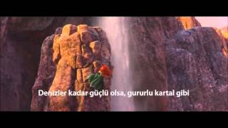 Repeat youtube video Disney's Brave 2012 OST - Touch the sky Turkish & Subtitles