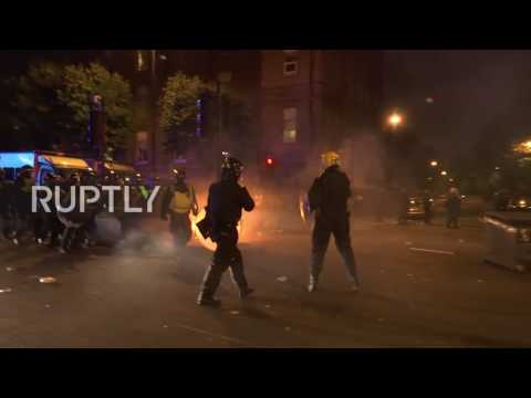 UK: Police brutality protest turns violent in Hackney