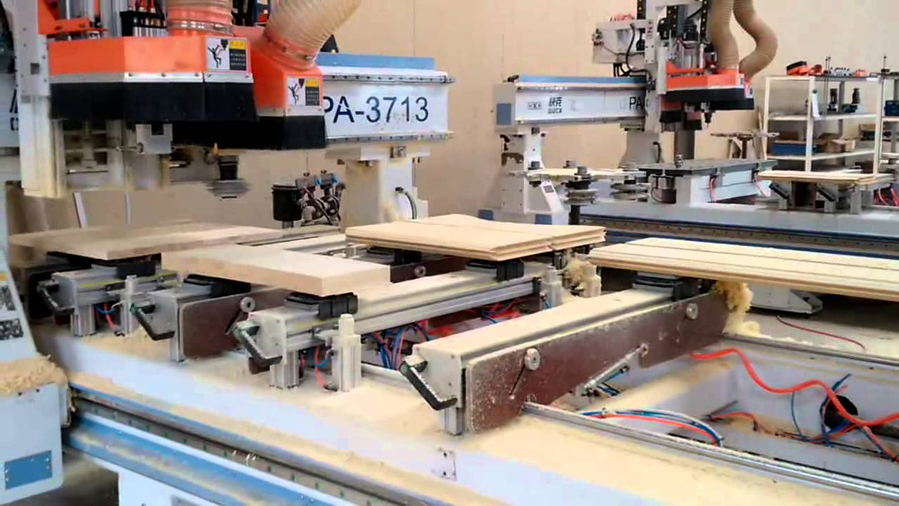 wood door making cnc router machine & wood door making cnc router machine - YouTube Pezcame.Com