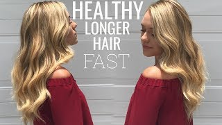 HOW TO GROW LONG HEALTHY HAIR! FAST!