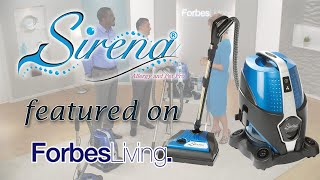 Sirena Water Vacuum featured on Forbes Living