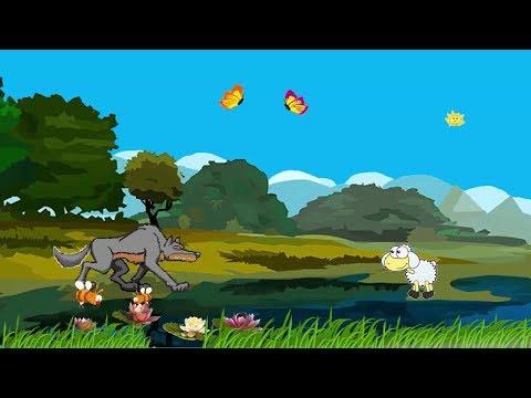 Волк и ягненок крылов мультфильм