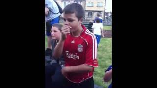 Josh beat boxing :)