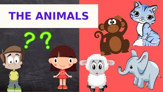The Animals-2/Funny Animals Videos For Kids!!!Let's Watch..