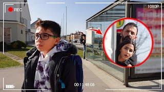 اول مرة نراقب ابننا بعد المدرسة 📸!! (كاميرا خفية)