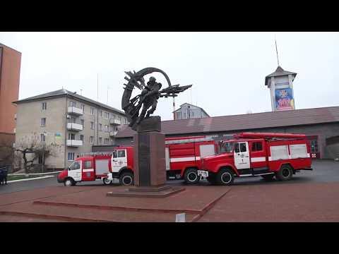 TV7plus: У Хмельницькому рятувальники вшанували пам'ять ліквідаторів наслідків катастрофи на ЧАЕС
