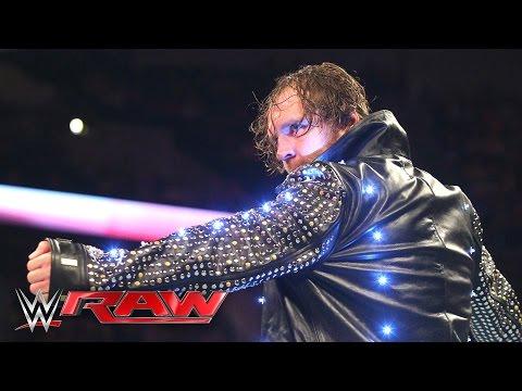 Dean Ambrose destroys Chris Jericho's jacket:...