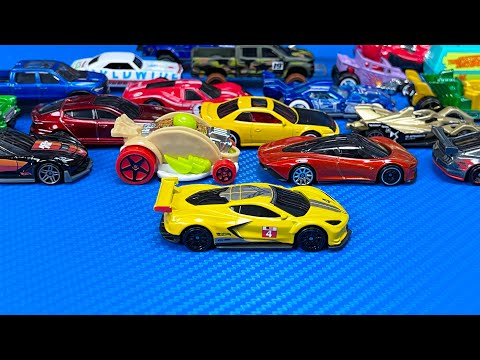 Let's Open 2021 Hot Wheels – Corvette C8R, Mclaren Speedtail