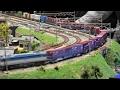 鉄道模型ジオラマをひたすら眺める動画《ヨコハマ鉄道模型フェスタ 2017》