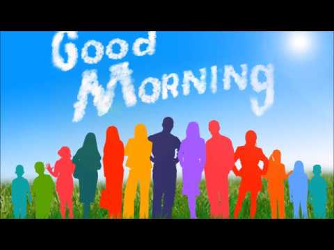 Canción Good Morning Para Empezar La Clase De Inglés