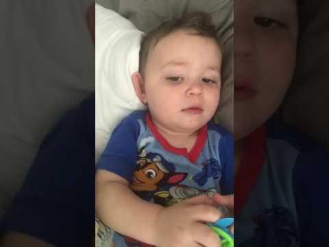 Wesley Sings Happy Birtay - 15 months old