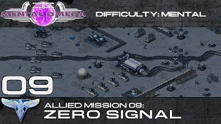 Mental Omega 3.0 Act One - Allied Mission 09: Zero Signal (On Mental) [HD]