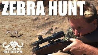 African BBQ Hunter - mountain zebra hunt