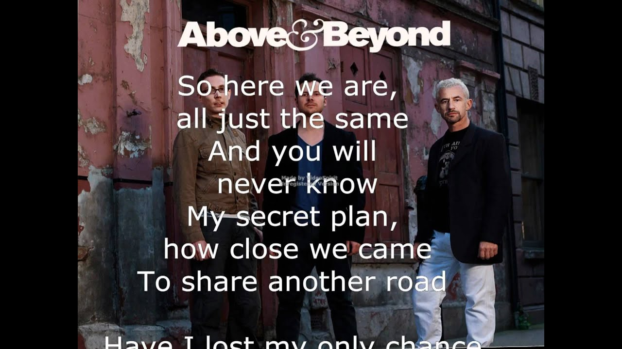 Above & Beyond feat. Richard Bedford - Thing Called Love ...