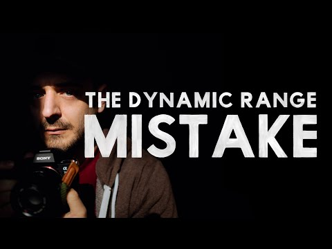 CHIAROSCURO — The Dynamic Range Mistake