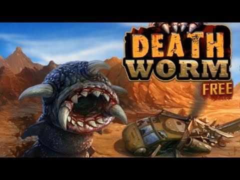 Death Worm™ Free прохождение! игра про большого Плотоядного червя! игра на андроид 2D
