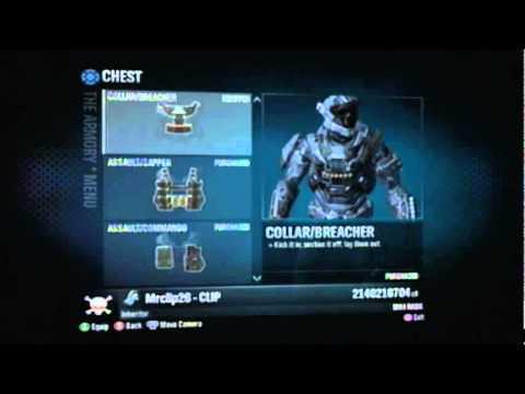 Halo Reach Modding Service Max Credit/Rank 2011