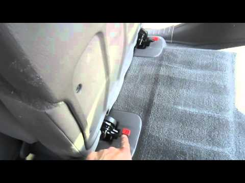 HOW TO FOLD REAR SEATS ON PT CRUISER