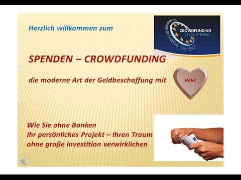 SPENDEN CROWDFUNDING CFI