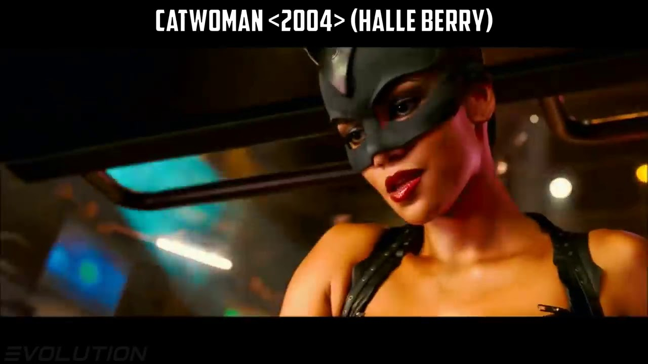 EVOLUTION of CATWOMAN in MOVIES & TV SERIES Selina Kyle ...