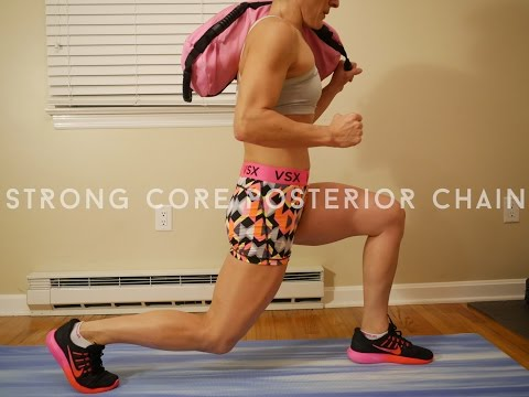 Posterior Chain workout by Christine Comeau