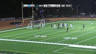 ESU Men's Soccer vs. Holy Family Highlights - 9/18/18