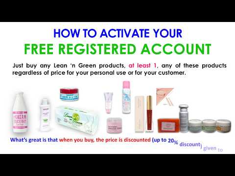 How to Activate FREE Registered Account