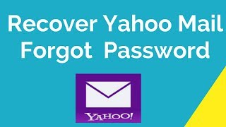 reset yahoo using security question