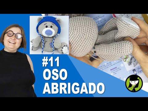 OSO NAVIDEÑO AMIGURUMI 11 oso tejido a crochet