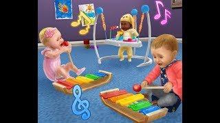 строим Комнату для младенца Sims FreePlay  Давай Строить Вместе
