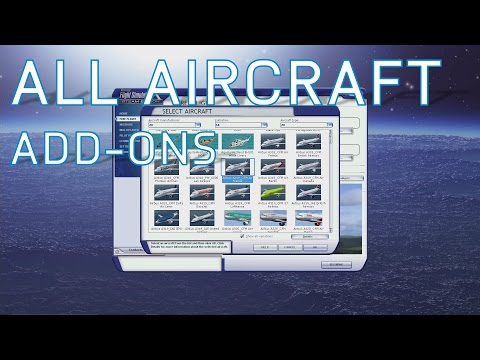 FSX All Aircraft Add-Ons   Complete Collection So Far