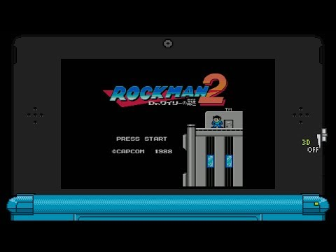 Rockman 2: Dr. Wily no Nazo (FC/NES/3DS VC) Game Clear~ (HD60)