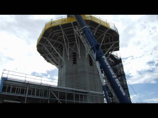 Adelaide Control Tower Construction Time Lapse