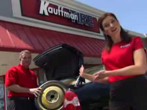 """Kauffman Tire Campaign: """"We Keep You Rolling"""""""