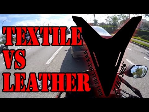 Choosing riding gear - Textile VS Leather