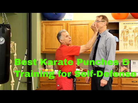 Best Karate Punches & Training for Self-Defense by 2nd Degree Black Belt.