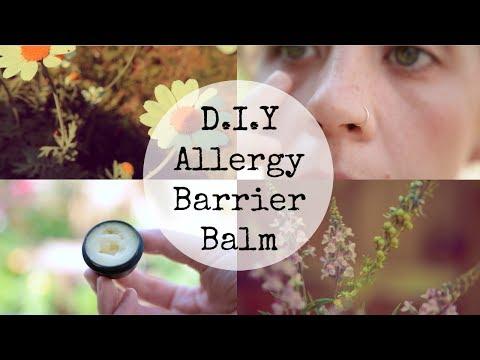 D.I.Y Allergy Barrier Balm