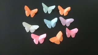 butterfly craft how to make butterflies   easy 5 minute craft   craft for kids   diy butterfly