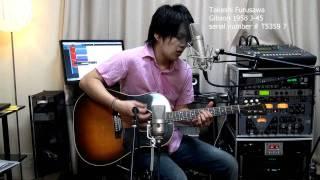 CROSSROADS cream 古澤剛 Takeshi Furusawa   Gibson 1958 J-45 ギブソン J45 ギブソン 検索動画 47