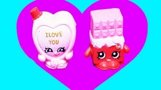 Shopkins Valentine's Day Sweet Heart Collection Special Edition 6 Exclusives