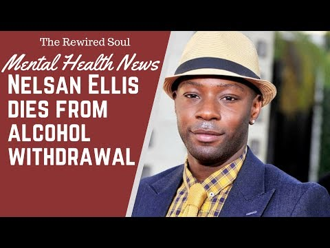 Nelsan Ellis Dies from Alcohol Withdrawal