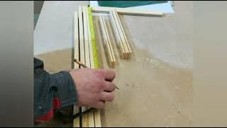 Как сделать детскую доску для рисования (мальберт) своими руками