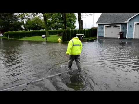 Worst flooding yet along Lake Ontario in Greece, NY,  5-25-17