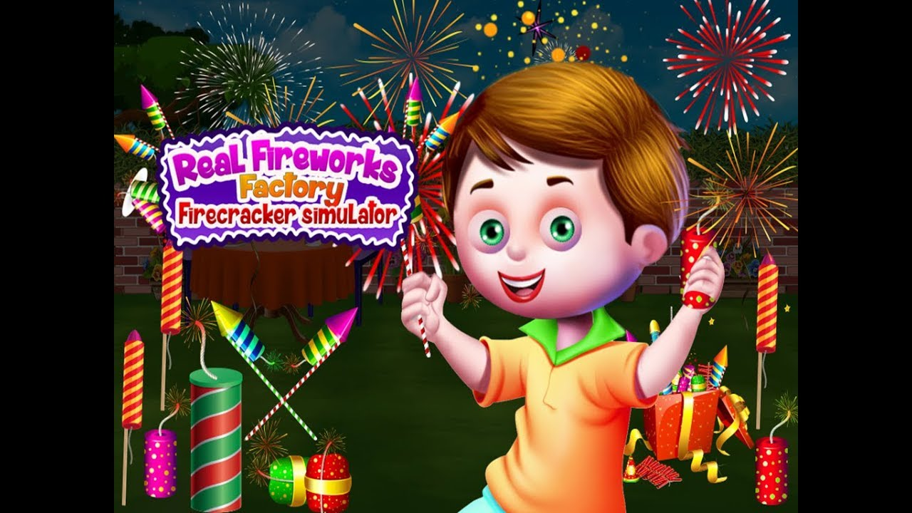 Children Learn How To Make Fire Crackers In Fireworks Factory Android Game Play For Kids Toddlers