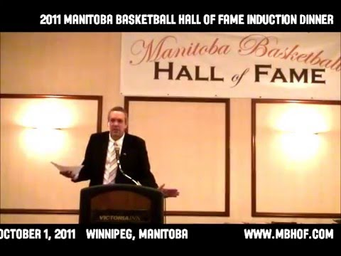 2011 Manitoba Basketball Hall of Fame Induction Dinner