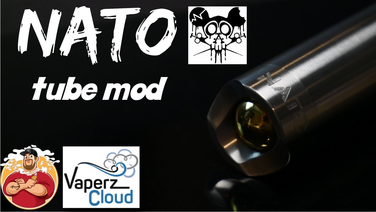 Nato Mech Mod by Vaperz Cloud & Asylm Mods Review & Breakdown