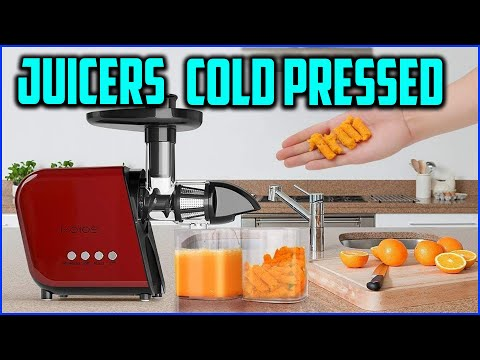 Top 5 Best Cold Pressed Juicers In 2020