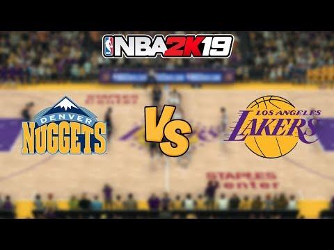 NBA 2K19 - Denver Nuggets vs. Los Angeles Lakers - Full Gameplay thumbnail