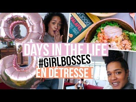 3 JOURS AVEC NOUS dans notre quotidien de #GIRLBOSSES | ENTREPRENEURES VLOG #14
