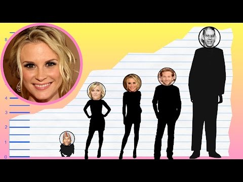 How Tall Is Bonnie Somerville?  Height Comparison!
